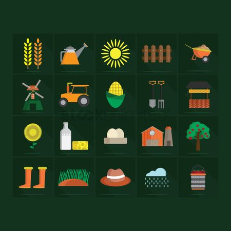 Grass : Agriculture icons