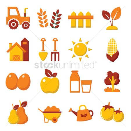 Apple : Agriculture set