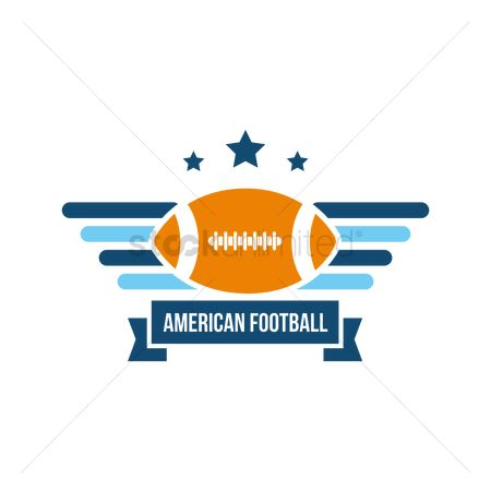 Insignias : American football label