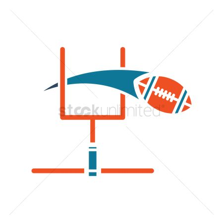 Recreation : American football touchdown