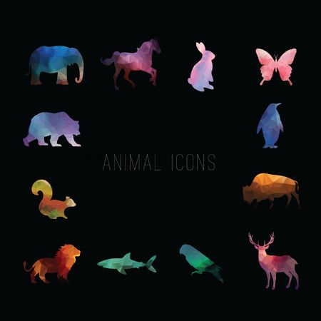 Gradient : Animal icons
