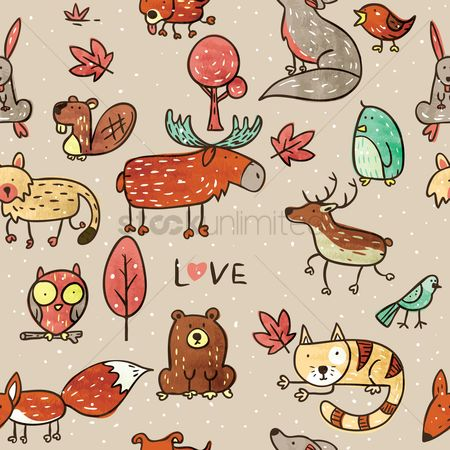 Wallpaper : Animals design