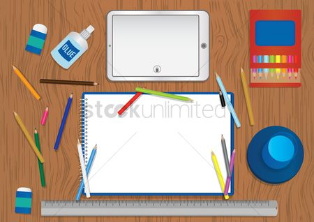 Laying : Artistic workspace design