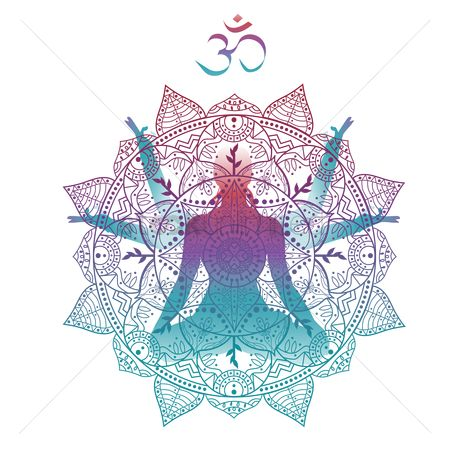 Health : Artistic yoga pose design