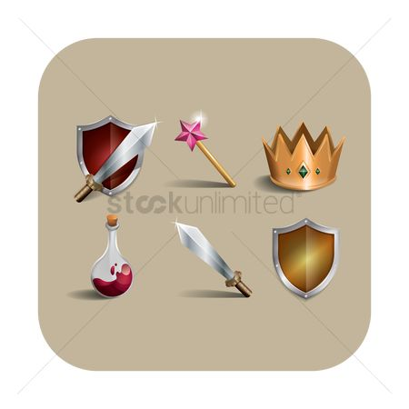 Crown : Assorted icons