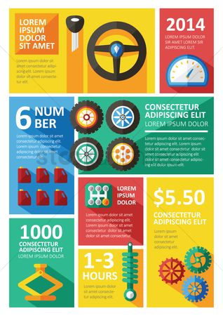 Jack : Automobile infographic