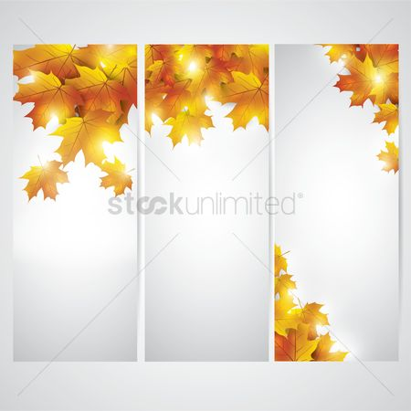 Skyscraper : Autumn themed banner