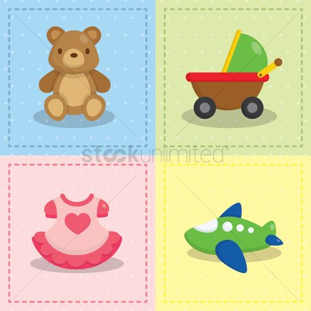 Teddybear : Baby toys collection