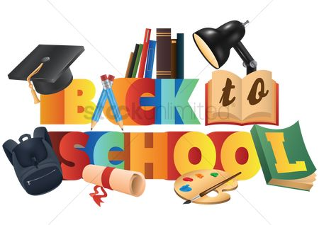 Typographics : Back to school lettering design