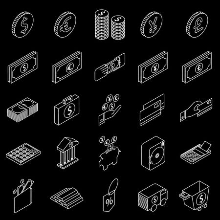 Credits : Banking and money icons