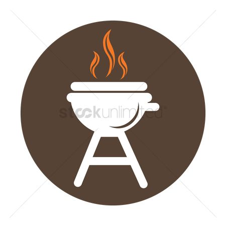 Footballs : Barbecue grill