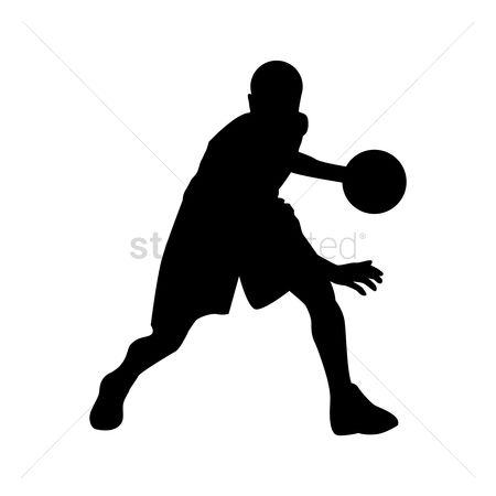 Sports : Basketball player in action