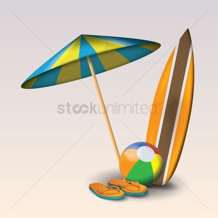 Huge : Beach theme set