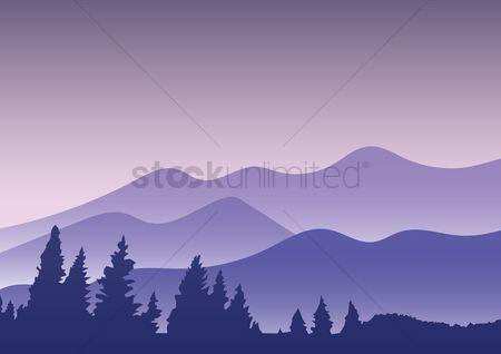 Mountains : Beautiful mountain view