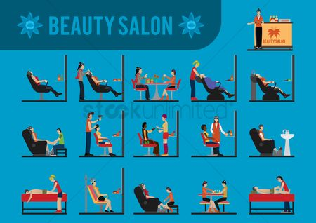 Fashions : Beauty salon