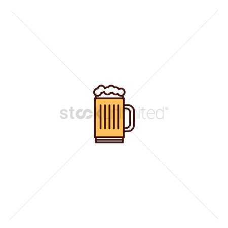 Pub : Beer mug icon