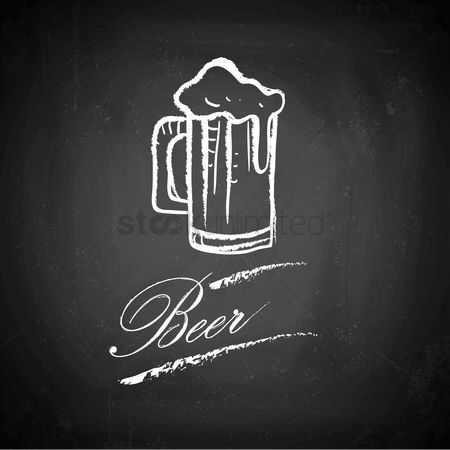 Blackboard : Beer