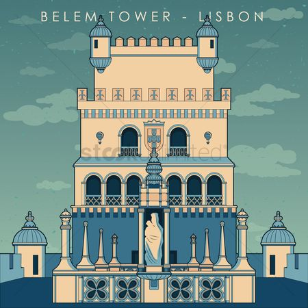 Places : Belem tower wallpaper