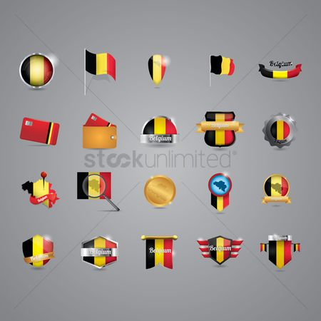 Belgium : Belgium icon set