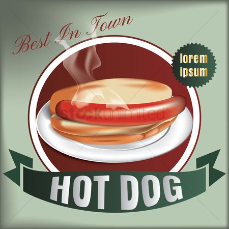Binge : Best in town hot dog design