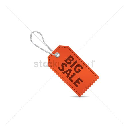 Huge : Big sale tag