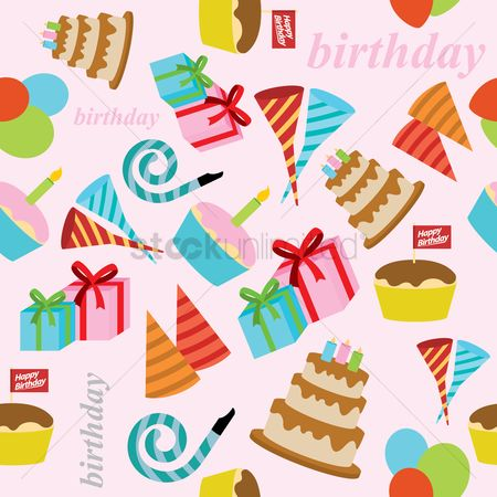 Whistle : Birthday party background