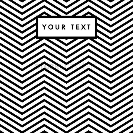Zig zag : Black and white zig zag background