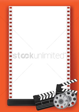 Production : Blank movie poster