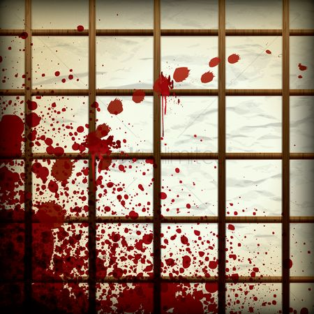 Dripping : Blood splatter