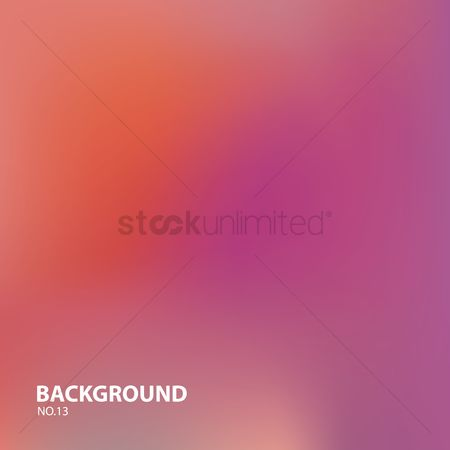 Gradient : Blurred background