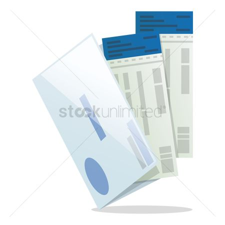 Aeroplanes : Boarding tickets