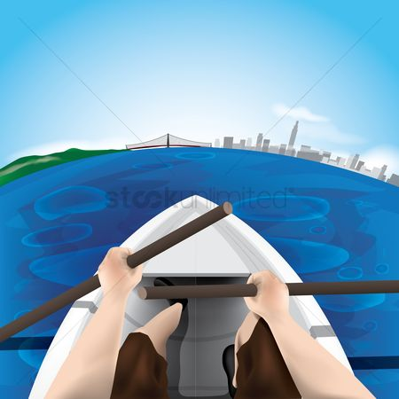 Paddle : Boating wallpaper