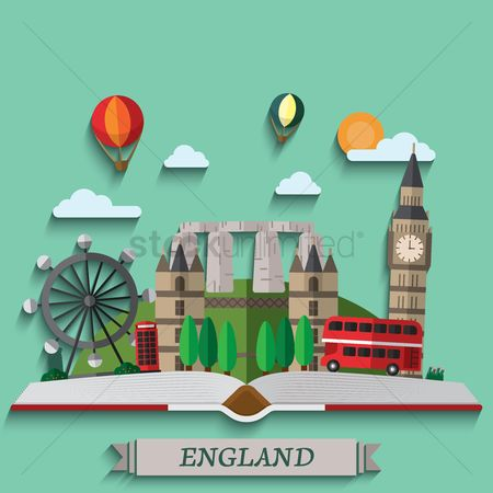 England : Book of travel to england