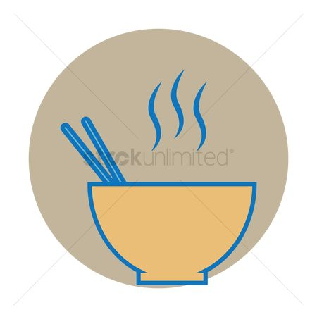 Servings : Bowl with chopstick
