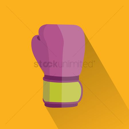Background : Boxing glove