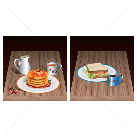 Hotcake : Breakfast tables