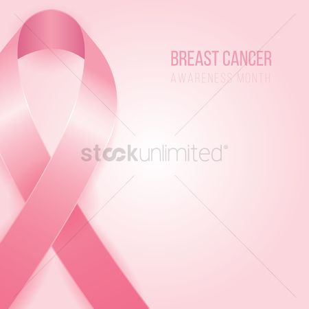 Aware : Breast cancer awareness month design
