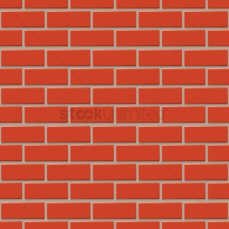 Brick : Brick wall background