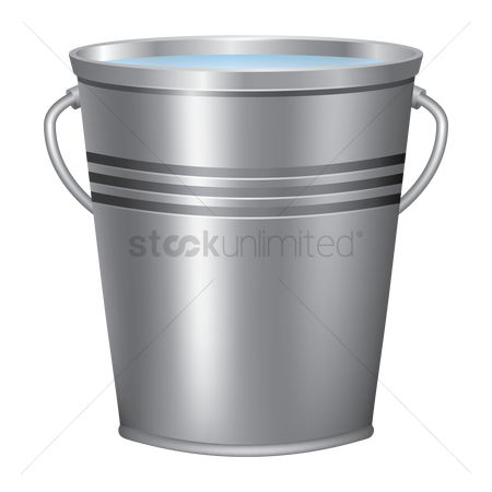 Vessel : Bucket of water