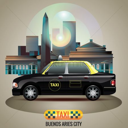 Taxis : Buenos aries city taxi