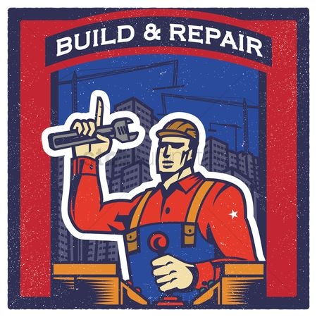 Builder : Build and repair wallpaper