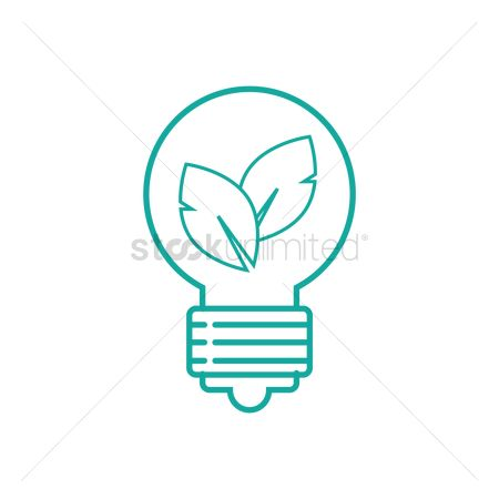 Halogen : Bulb with leaves