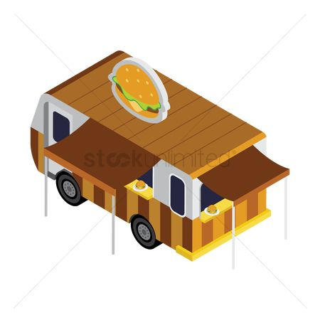 Lorries : Burger truck