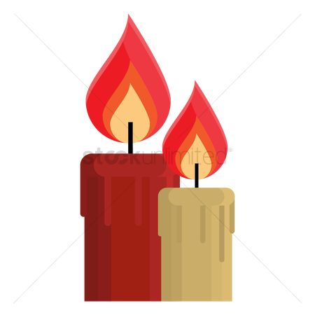 Lighter : Burning candle