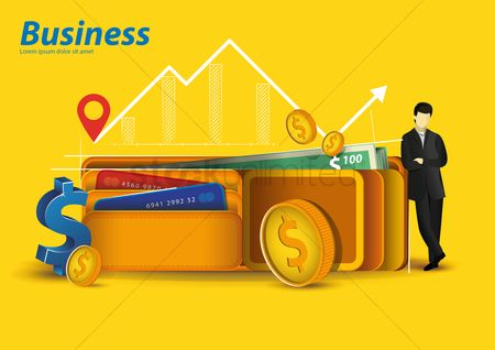 Currencies : Business concept