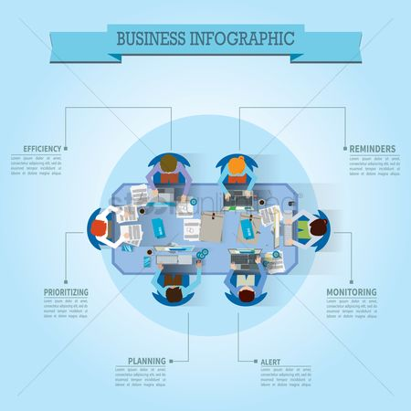 Researching : Business infographic design