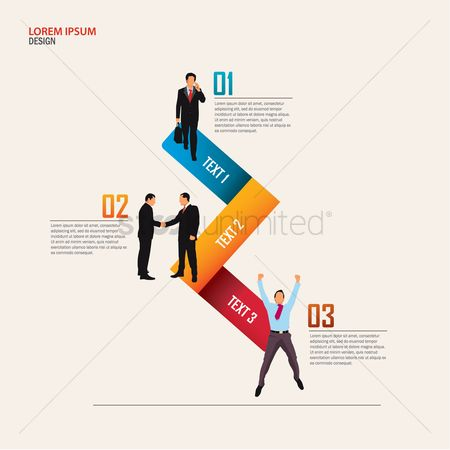 Entrepreneur : Business infographic presentation