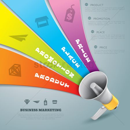 Retails : Business marketing infographic design
