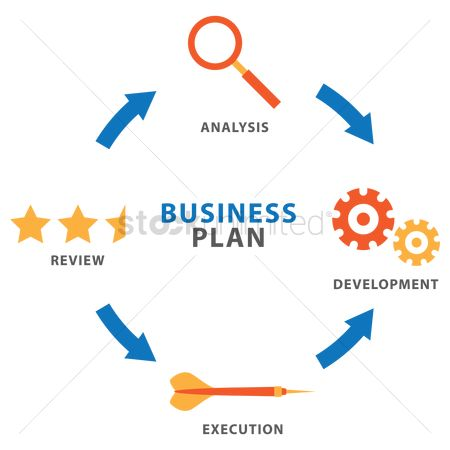 Cogwheels : Business plan icons