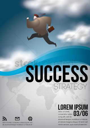 Success : Business poster
